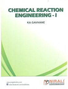 Chemical Reaction Engineering 1 | Gavhane