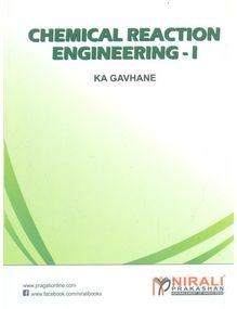 Chemical Reaction Engineering 1 | Gavhane
