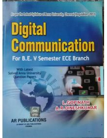 Digital Communication | L. Gopinath , A.R. Dinesh Kumar