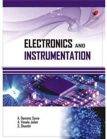 Electronics and Instrumentation | Dominic Savio, Vimala Juliet , Shanthi