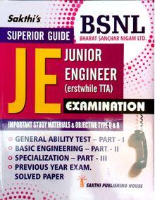 Junior Engineer (JE - TTA) Examination Study Materials & Objective Type Q & A ( BSNL JE )