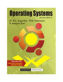 Operating Systems | Suganthe , Manjula devi