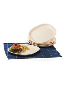 FULL PLATE SQUARE (SET/6)  || SIGNORAWARE - SERVING TABLEWARE