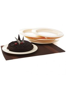 CAKE PLATE (SET/6)  || SIGNORAWARE - SERVING TABLEWARE