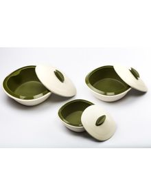 CASSEROLE DOUBLE WALL (SET/3)  || SIGNORAWARE - SERVING TABLEWARE