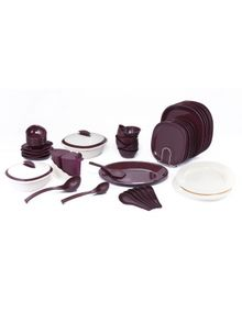 SIGNORAWARE DINNER SET WITH DOUBLE WALL CASSEROLE 51 PCS.  || SIGNORAWARE - DINNER SET RANGE