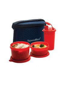 COMBO EXECUTIVE LUNCH (SMALL) WITH BAG  || SIGNORAWARE LUNCH BOX