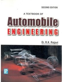 A Textbook Of Automobile Engineering | R.K.Rajput