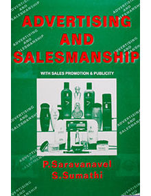 Advertising and Salesmanship