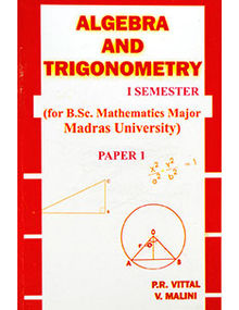 Algebra and Trigonometry - I Semester