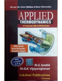 Applied Thermodynamics | Vijayaraghavan , Senthil