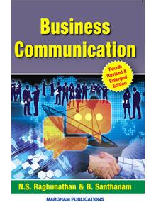 Business Communication | N.S. Raghunathan , B. Santhanam