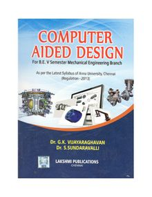 Computer Aided Design | Dr.G.K.Vijayaraghavan