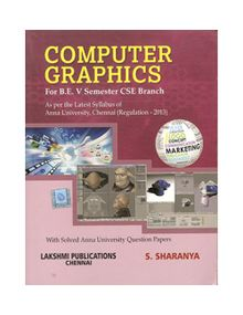 Computer Graphics   Sharanya