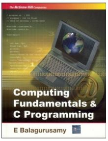 Fundamentals Of Computing And Programming | E.Balagurusamy