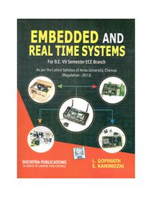Embedded and Real time Systems | L.Gopinath, S.Kanimozhi