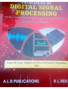 Principles of Digital Signal Processing | R.L. Reka