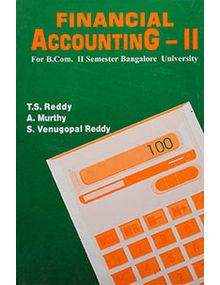 Financial Accounting - II (Bangalore University)