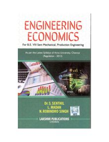 Engineering Economics   Dr.S.Senthil, L.Madam, N. Robindro singh