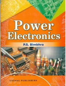 Power Electronics | Dr P.S Bimbhra