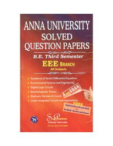Anna University Solved Question Papers - EEE 3rd Sem