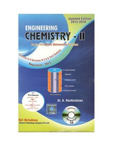 Engineering Chemistry - II | Ravikrishnan