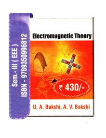 Electromagnetic Theory | A.V.Bakshi,U.A.Bakshi