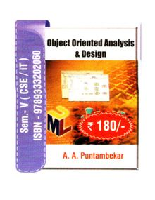 Object Oriented Analysis and Design  A.A.Puntambekar