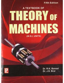 A Textbook of Theory of Machines | R.K. Bansal , J.S. Brar