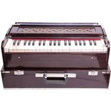 03 - SG Musical Folding/Box Type Harmonium , A440, 42 Keys, Coupler Function