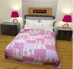 RajasthaniKart Reversible  AC Blanket/Dohar (Single Bed)