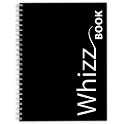 Canson Whizz Book 80 GSM A4 Art Book of 136 Fine Grain Sheets - Black Spiral Cover