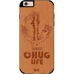 Beer Chug Life Real Wood Cherry Case For iPhone 6S