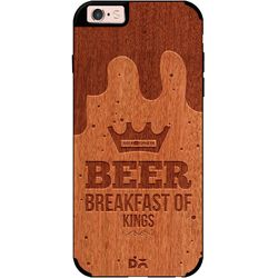 Beer BoK Real Wood Red Chestnut Case For iPhone 6S
