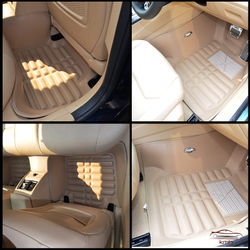 KMH Leatherite 5D Mats for  BMW 3 Series 2013 (Beige)