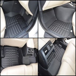 KMH Leatherite 5D Mats for  BMW 5 Series 2014 (Black)