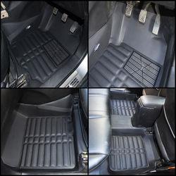 KMH Leatherite 5D Mats for Maruti Suzuki S Cross 2015 (Black)