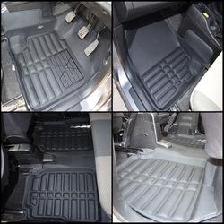 KMH Leatherite 5D Mats for Maruti Suzuki Wagon R (Black)