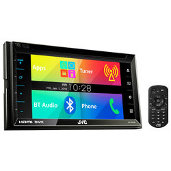 JVC Monitor  with Dvd Reciver Multimedia Player (KW-V620BTM)- 4975769434747