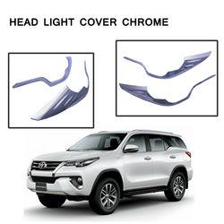 KMH Head Light Chrome for Toyota Fortuner 2016