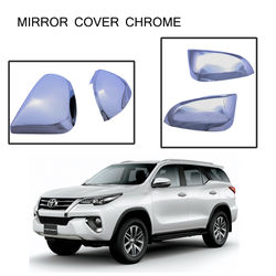 KMH Mirror Cover Chrome for Toyota Fortuner 2016