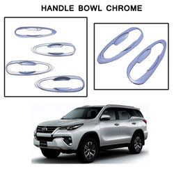 KMH Handle Bowl Chrome for Toyota Fortuner 2016