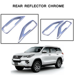 KMH Rear Reflector Cover Chrome for Toyota Fortuner 2016