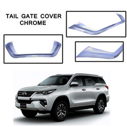 KMH Tail Gate Cover Chrome for Toyota Fortuner 2016