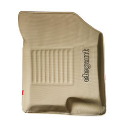 KMH Elegant 3D Sportivo Car Mats For Skoda Rapid (Beige)