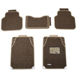 KMH Universal Grass Mat for Cars (Beige with Brown)