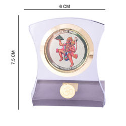 Heritage 24krt Gold Plates God Idol For Lord Hanuman-ACF Frame (Design-2)