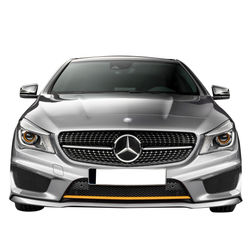 KMH Diamond Grill For Mercedes A Class (W 176) (Gloss Black)