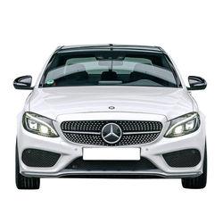 KMH Diamond Grill For Mercedes C Class (W 205) (Gloss Black)