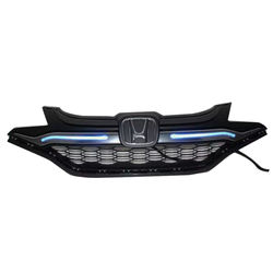 KMH Front Grill with Light for Honda Jazz